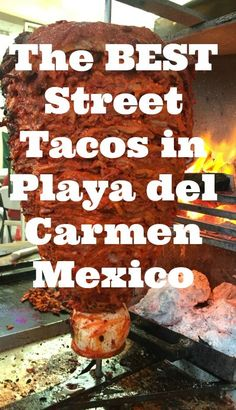 Al pastor is a dish developed in Central Mexico, likely as a result of the adoption of the Shwarma spit-grilled meat brought by Lebanese immigrants to Mexico. Whereas shawarma is usually lamb-based, tacos al pastor in Mexico are made from pork. The best street tacos in Mexico are made with al pastor meat, and here's where to find them in Playa del Carmen Mexico!