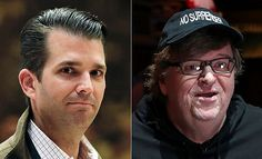 FOX NEWS: Donald Trump Jr. slams Michael Moore for asking if Mar-a-Lago opened as shelter during Irma Donald Trump Jr. fired back at liberal filmmaker Michael Moore who questioned whether President Trump's Florida resort opened as a shelter when Hurricane Irma hit the state.
