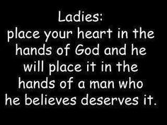 God's hands in finding love.