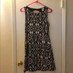 PINK sundress Worn twice, PINK Black and Tan sundress PINK Victoria's Secret Dresses Midi