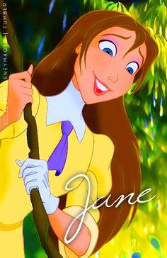 Disney Jane, Disney Girls, Disney Magic, Walt Disney, Disney And Dreamworks, Disney Pixar, Disney Characters, Disney Princesses, Tarzan Disney