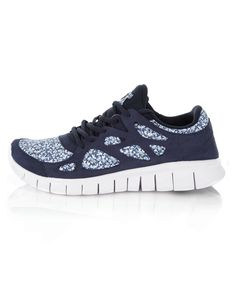 2126ed16a764f Free Run+2 Pepper Liberty Print Trainers, Nike. Shop more trainers from the