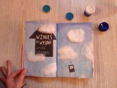 Podesłala Justyna Wietrzyk #zniszcztendziennik #kerismith #wreckthisjournal #book #ksiazka #KreatywnaDestrukcja #DIY