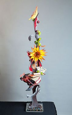 sugar sculpture Divine Chocolate, Chocolate Art, Blown Sugar Art, Pulled Sugar Art, Chocolate Centerpieces, Image Nice, In Loco, Sugar Glass, Chocolate Showpiece