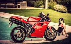 #Ducati #996 Ducati 996, Nicky Hayden, Home Of The Brave, Hot Bikes, Racing, Motorcycle, Vehicles, Red, Running