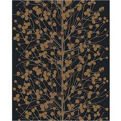 Lumimarja wallpaper black gold