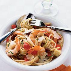 Shrimp and Brie Linguine - 21 Easy Pasta Recipes - Coastal Living