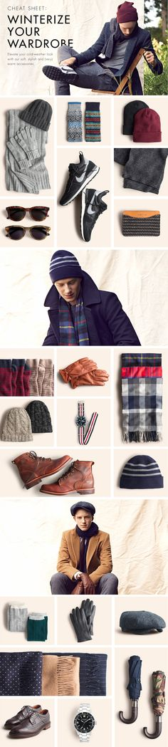 Cheat Sheet: Winterize Your Wardrobe