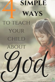 Simple ideas and resources to help you child grow in faith. via @cthomaswriter Parenting Humor, Parenting Advice, Kids And Parenting, Mindful Parenting, Gentle Parenting, Raising Godly Children, Raising Kids, Godly Play, How To Teach Kids
