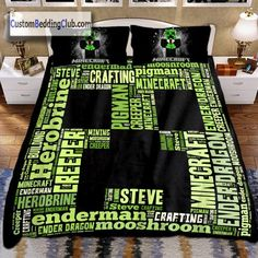 Minecraft Bedding, Picnic Blanket, Outdoor Blanket, Kid Beds, Creepers, Baby Quilts, Bed Sheets, Bedding Sets, Comforters