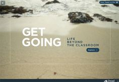 University website makes inventive use of HTML5 video