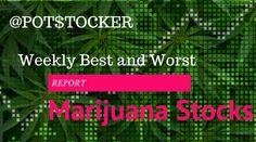 Best and Worst Marijuana Stocks Report