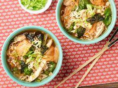 10-Minute Chicken, Corn and Kimchi Ramen recipe from Food Network Kitchen via Food Network