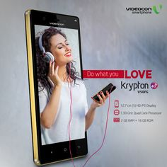 From games to movies, emails to music. Do multitasking like a pro with #Videocon Krypton V50FG powered by 4G. To explore visit - http://www.videoconmobiles.com/kryptonv50fg