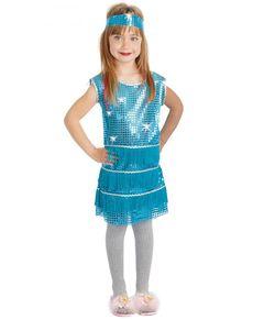 Disfraz de charlestón para niña Disfraces De Gánster 01ec379a937
