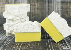 Bright and cheery, it's no wonder the Lemon Poppy Seed Cold Process was the top tutorial from 2014! With so much great feedback, you can now watch this project from start to finish in the Lemon Poppy Seed Cold Process video on Soap Queen TV. This soap is an advanced project, with a super straight …