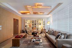 Projeto luminotécnico traz aconchego para apartamento no Rio - Casa