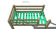 Free Woodworking Plans to Build a Full Sized Low Loft Bunk – The Design Confidential – Woodworking 2020