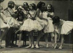#vintage ballet photograph ...young ballerinas