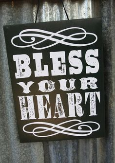 Bless YouR HEaRt Canvas from Junk GYPSY co.