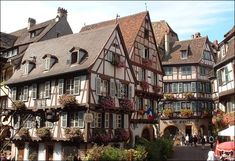Alsace, Beautiful Places To Visit, Places To See, Train Museum, Belle France, Home Exchange, Medieval Houses, Visit Germany, Belle Villa
