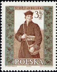 Polonia-Trajes Regionales-Traje de Lublin