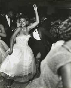 Dancers at the Bon Temps Carnival Ball, New Orleans, 1953. Courtesy of Hold This Photo