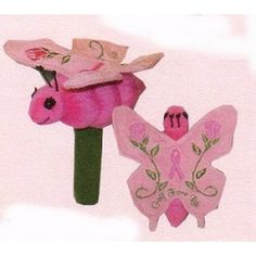 Winning Edge Pink Ribbon Butterfly Hybrid Headcover