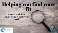 Helping you find your fit Helping People, Finding Yourself, Fitness