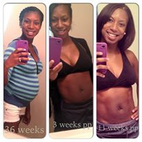 0aec5e752e10b We LOVE these photos sent to us by new mom Caierston -- you look fab!
