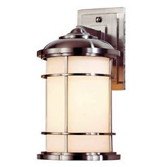 """Feiss Lighthouse Collection 13 1/2"""" High Outdoor Wall Light"""