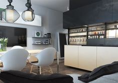 Designing For Small Spaces Beautiful Micro Lofts Kitchen - Designing for small spaces 3 beautiful micro lofts