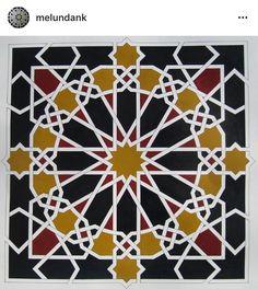 Islamic Motifs, Islamic Tiles, Islamic Patterns, Geometric Patterns, Islamic Art, Textures Patterns, Print Patterns, Letra Drop Cap, Sarah Wood