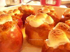 Sweet Potato Stuffed Baked Apples