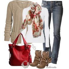 Casual Looks For Women | Casual Dress for Women | A Pop Of Red | Fashionista Trends