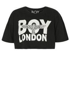 Boy London crop t-shirt