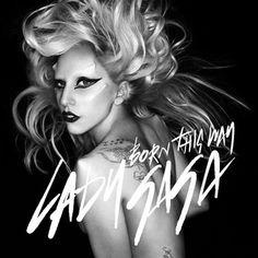 Lady Gaga Born This Way CD - Birthday present from B...he knows me so well! :)