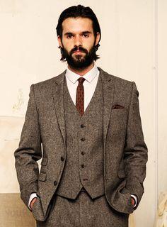 vest and patterned Jacket