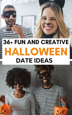 Halloween date ideas for couples at home and out. Cute, fun and even cheap activities for couples on halloween including pumpkin decorating indoors | Easy DIY halloween | Date Ideas | Dates | Fall Dates | Couple Activities | Halloween ideas | Halloween projects | Halloween stuff | Spooky halloween | Haloween couple | Halloween couple ideas | Couple halloween ideas | Couples halloween ideas cute couples halloween ideas | halloween for couples #halloween #dateideas #falldateideas Cute Couple Halloween Ideas, Halloween Date, Couple Ideas, Halloween Stuff, Spooky Halloween, Couple Activities, Halloween Activities, Halloween Projects, Unique Date Ideas