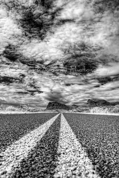Down the Highway.  Big Bend National Park