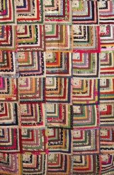 Barbara Brackman's MATERIAL CULTURE: Half a Log History and Free Pattern