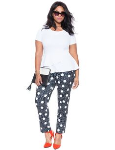 if ever i was to wear patterned pants... (all ELOQUII)