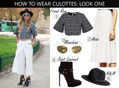 3 Killer Ways To Wear The Culotte: The Must-Have Pant For Spring 2014 - The Store Blog