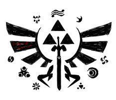 legend of zelda tattoo - Google Search