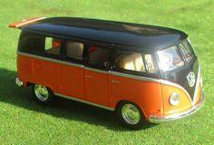"VW Bus T 1 ""Bulli""  Maßstab ca. 1:32 mit Rückziehmotor Volkswagen Transporter, Vw T1, Citroen Ds, Golf 1 Gti, Vw Modelle, Mercedes Benz, Vw Passat Variant, T2 Bus, Motor"