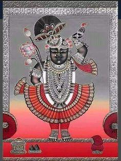 Kerala Mural Painting, Krishna Painting, Madhubani Painting, Silk Painting, Pichwai Paintings, Indian Art Paintings, Señor Krishna, Ganesha Art, Lord Ganesha