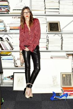 100 Inspirations | celebrity style for less : Jenna Lyons Look for Less < $72