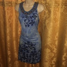 """Krista Lee dress Beaded and sequined tunic dress. Can also be worn as a coverup. Comes to mid thigh on me at 5'6"""". Dresses Midi"""