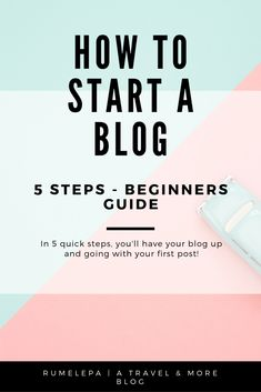 Start your blog in 5 quick steps! People think it's difficult to start a blog when I can prove in 5 quick steps how it works and actually get you set up to your first post! Make Money Blogging, How To Make Money, Blogging Ideas, Saving Money, Blog Writing, Writing A Book, Blog Layout, Blog Tips, Best Blogs