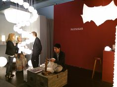 """""""Der Messestand von Suzusan Luminaires auf der Light+Building 2016."""""""